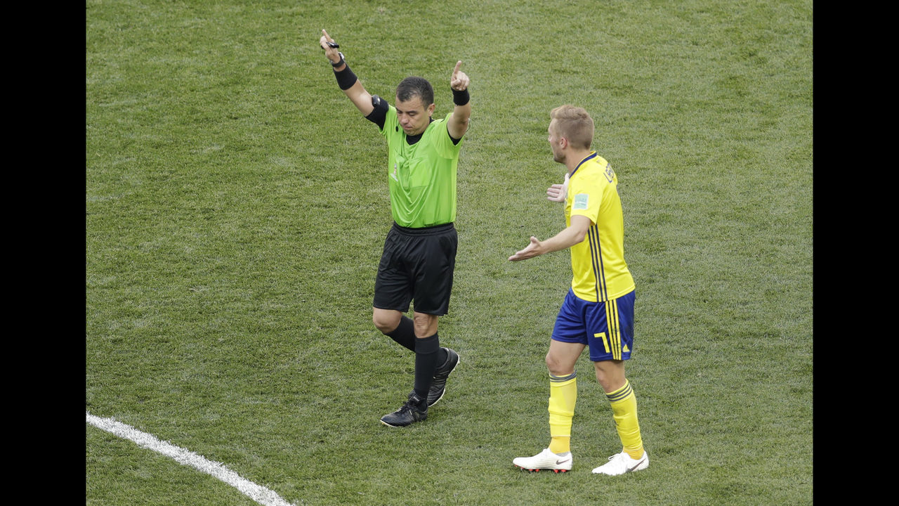 The Latest: FIFA 'extremely satisfied' with referee standard | WSB-TV