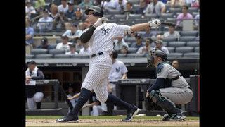 Judge, Andujar HR, Yankees top Mariners 4-3 for 3-game sweep