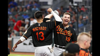 Machado hits 2-run HR in 15th as Orioles beat Braves 10-7