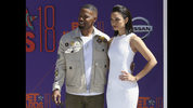 Jamie Foxx, left, and his daughter Corinne Foxx arrive at the BET Awards at the Microsoft Theater on Sunday, June 24, 2018, in Los Angeles. (Photo by Willy Sanjuan/Invision/AP)