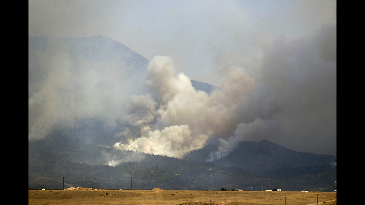 A lot of red on July 4 as wildfires keep growing in US West | WJAX-TV