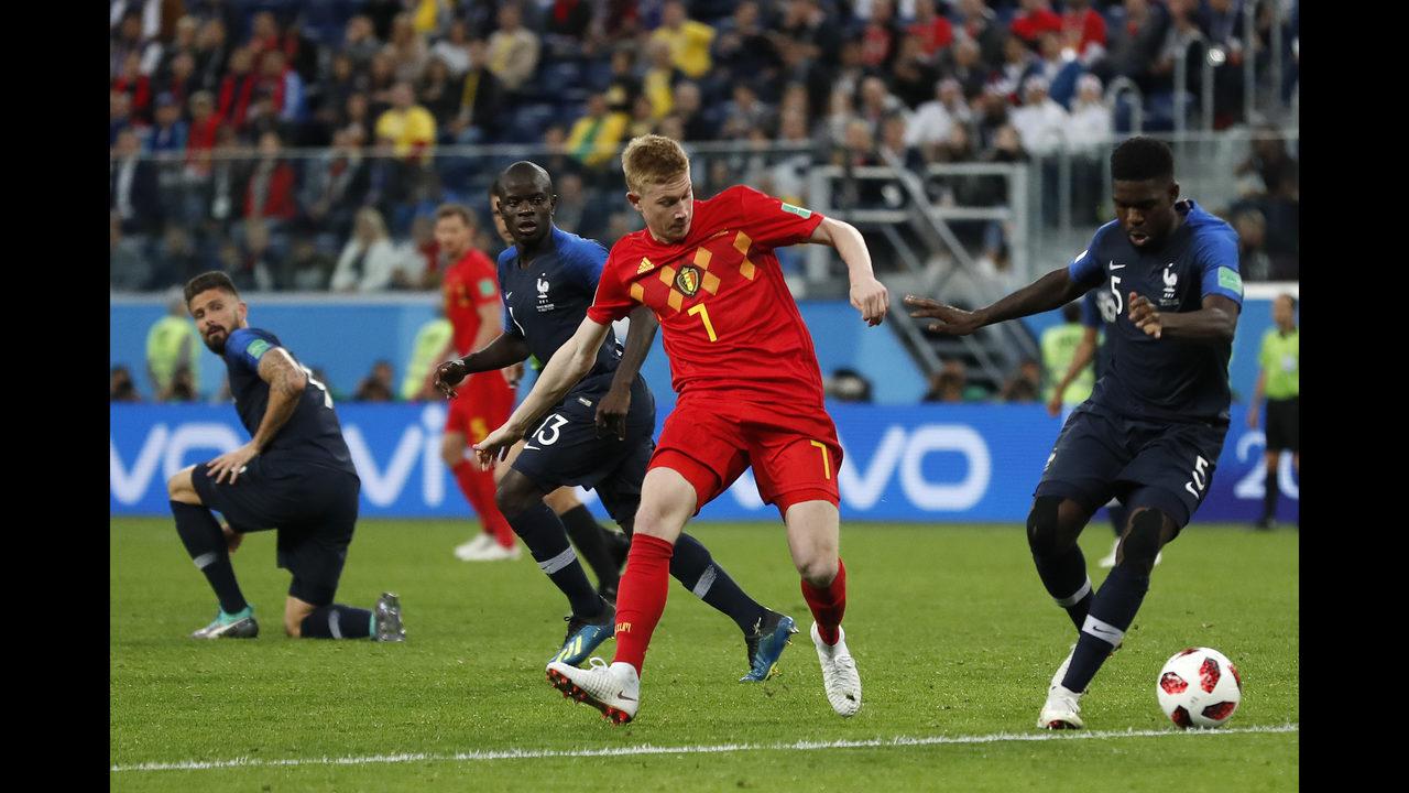 The Latest: Expert panel praises Belgium\'s tactical approach | WJAX-TV