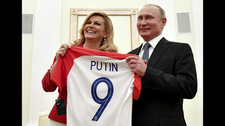 Russia on a high as World Cup wraps; Putin