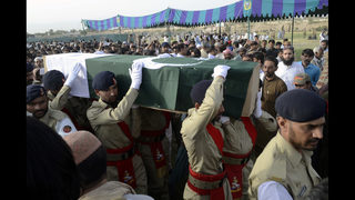 Pakistanis mourning victims of carnage ahead of elections