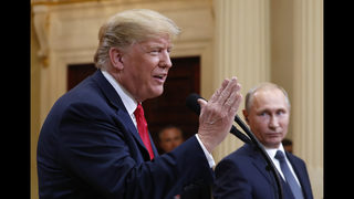 Trump backs down, says he misspoke on Russia meddling