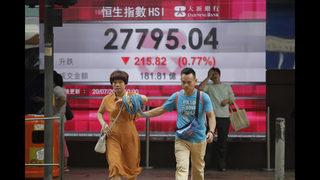 World stocks mixed under pressure of more US tariffs