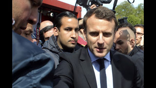 Macron aide handed initial charges from May protest assault