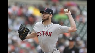 Sale shuts down Tigers in Boston
