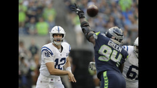 Andrew Luck makes return as Colts beat Seahawks 19-17