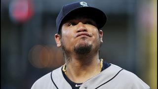 Mariners bump Felix Hernandez from rotation to bullpen