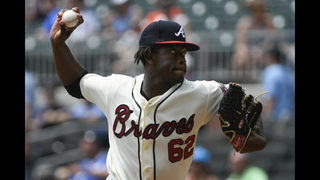 Double duty: Acuna hits 2 leadoff HRs, Braves sweep Marlins