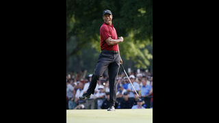 Furyk gets core of Ryder Cup team, and obvious pick in Woods