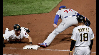 Cubs match double-play record vs Bucs