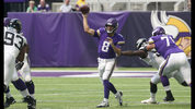 Minnesota Vikings quarterback Kirk Cousins (8) throws a pass during the first half of an NFL preseason football game against the Jacksonville Jaguars, Saturday, Aug. 18, 2018, in Minneapolis. (AP Photo/Jim Mone)
