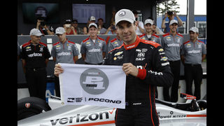 The Latest: Wickens spins into fence in wreck at Pocono