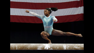 Biles dresses for the survivors while winning 5th US title
