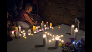 The Latest: Police investigating Colorado man found affair