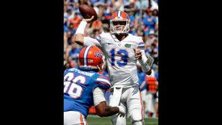 Florida names Feleipe Franks starting QB to open season