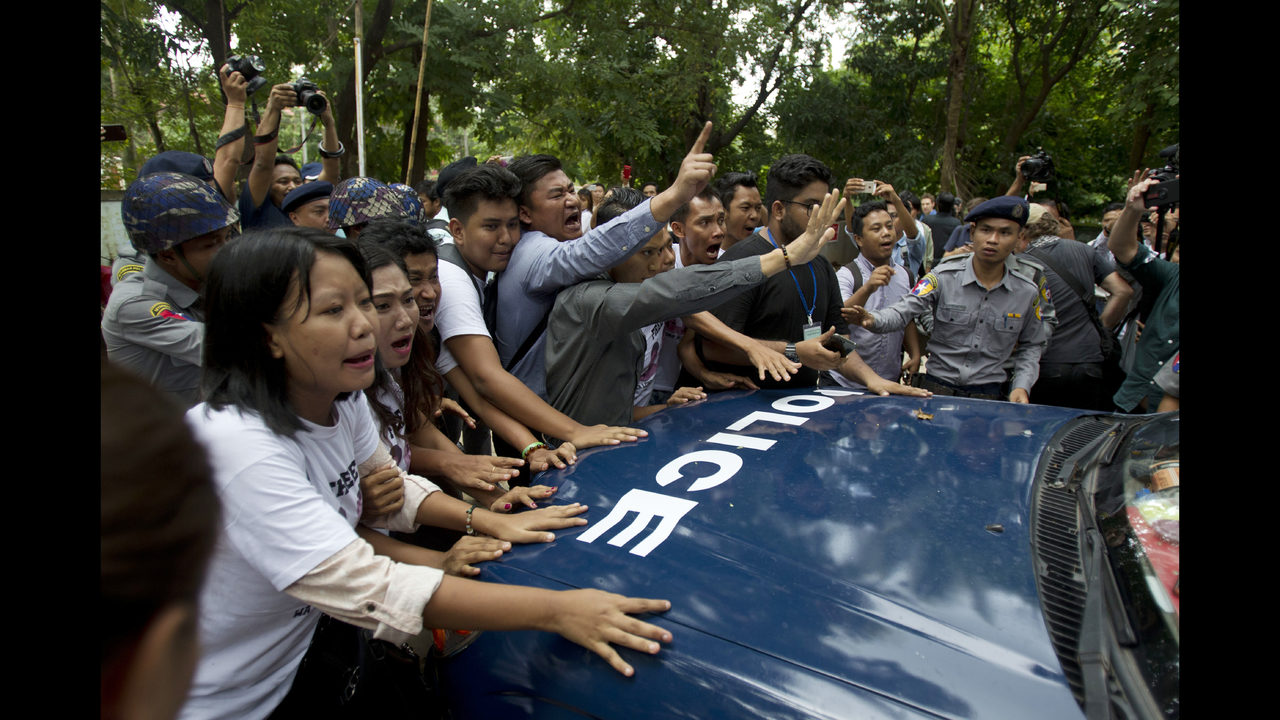 The Latest: British envoy says Myanmar case hurt rule of law