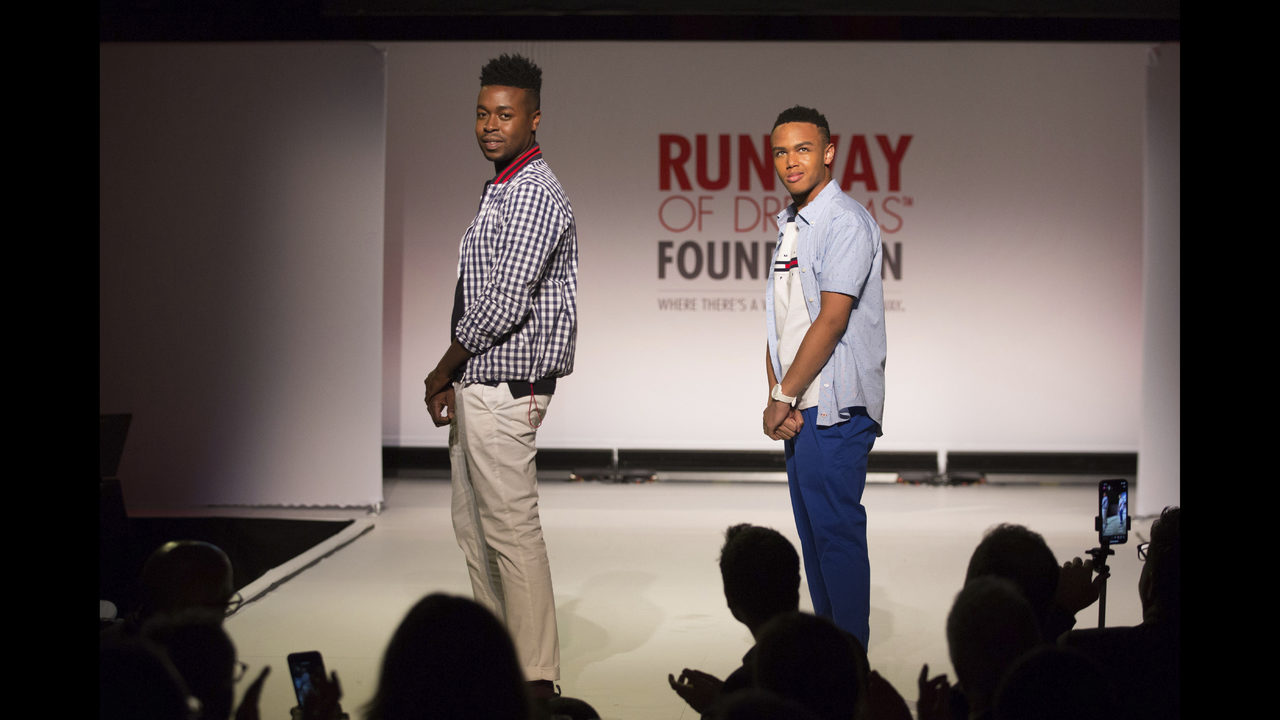 Clothes for people with disabilities highlighted on catwalk | WSOC-TV