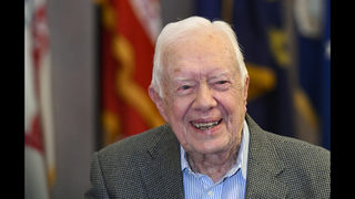 President Jimmy Carter to campaign today with Stacey Abrams