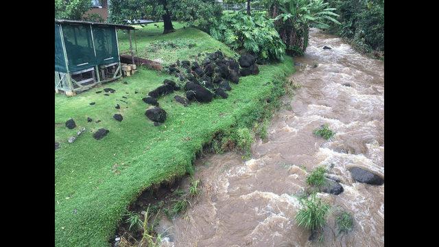 Honolulu dam\'s neighbors warned as storm raises water levels | WPXI