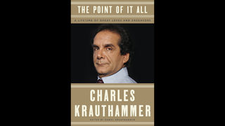 New Charles Krauthammer anthology coming Dec. 4