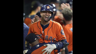 Gurriel homers twice as Astros punch playoff ticket