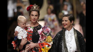 Dolce&Gabbana explore DNA with star-filled cast