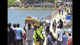 Burials begin as deaths from capsized ferry rise to 224