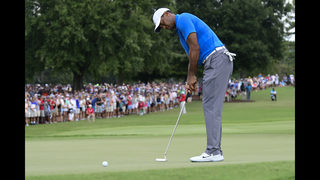 The Latest: Woods might end up with 2 trophies at East Lake
