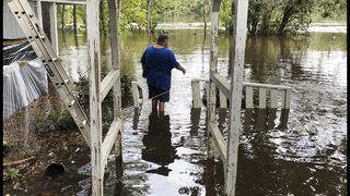 After the hurricane comes the deluge on South Carolina coast