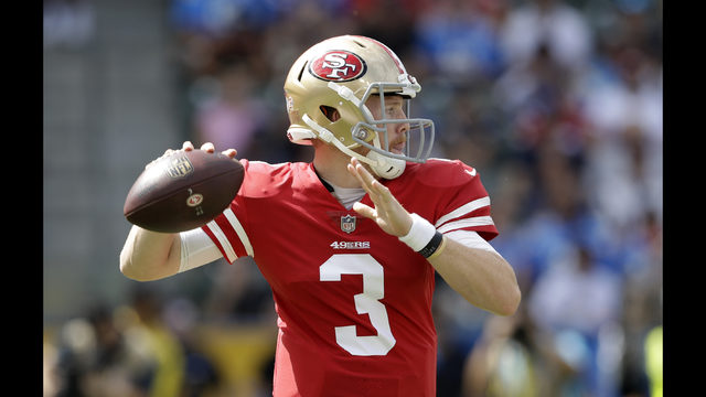 Rivers throws for 3 TDs as Chargers rally to beat 49ers | FOX23