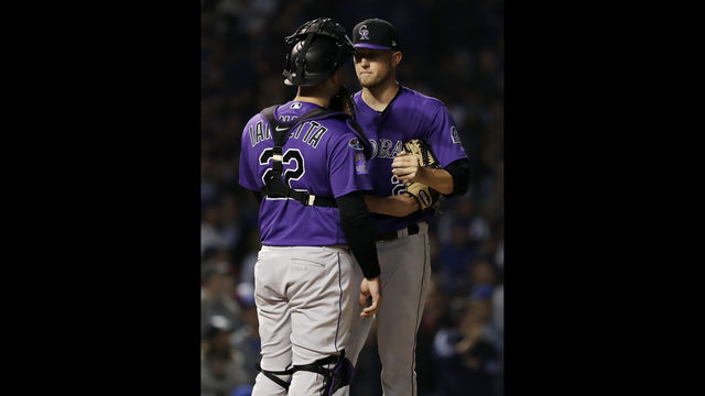 f0bf04946f4 Colorado Rockies starting pitcher Kyle Freeland
