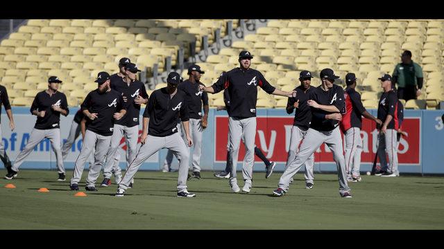 Braves, Dodgers tweak starting lineups for Game 2 of NLDS