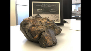 For sale to the highest bidder: A 12-pound chunk of the moon