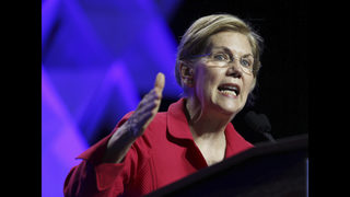Warren accuses Trump of