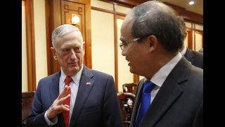US defense secretary sees the enduring costs of Vietnam War
