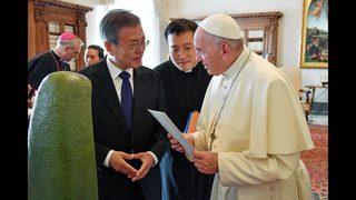 Pope indicates willingness to visit North Korea