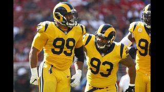 Unbeaten LA Rams rolling behind Aaron Donald