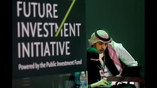 Saudi investment forum opens under haze of Khashoggi