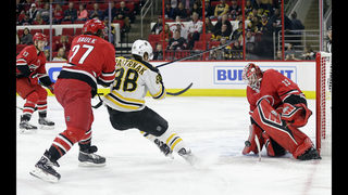 Marchand, Bruins stop Hurricanes