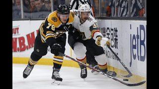 Halak shuts down Golden Knights in Bruins win