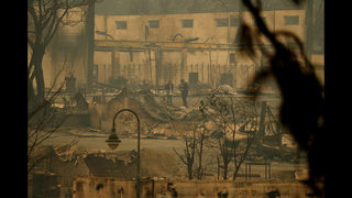 The Latest: Residents sue utility over California wildfire