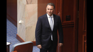 Macedonia ex-leader requests asylum in Hungary