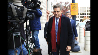 Justice Department and CNN spar over Acosta