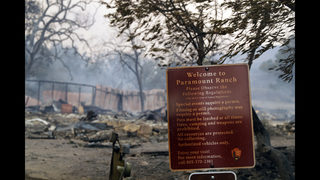 Southern California fire scorches huge swath of public lands