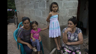Caravan migrants and worried families try to stay in touch