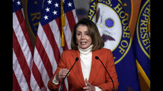 Trump jumps in to offer aid to Democrat Pelosi