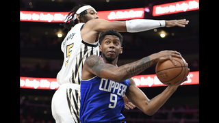 Harrell, Williams rally surging Clippers past Hawks 127-119